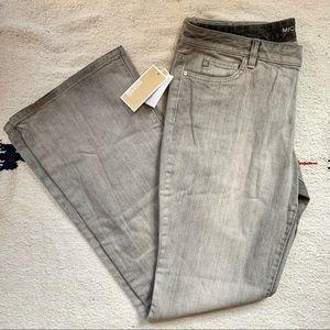 Michael Kors Skinny Leg Stretch Jeans Ash Gray 12